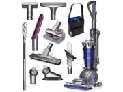 Dyson Ball Animal 2 Total Clean Bagless Upright Vacuum Cleaner + Tangle-Free Turbine Tool + Hard Floor Tool + Reach Under Tool + Carbon Fiber Soft Dusting Brush