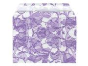 Purple lace 4 5/8 x 6 7/16 Cello Sleeve - 100 per pack