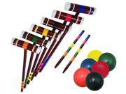 Franklin 4 Person Croquet Set, #JDS 0740-0187