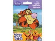 "Disney Winnie The Pooh Iron On Applique-Tigger 3""""X2-5/8"""" 1/Pkg"" 9SIA00Y0PZ2045"
