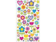 Sticko Classic Stickers-I Love Flowers