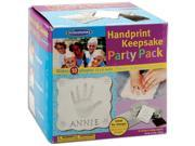 Handprint Keepsake Party Pack 10 Pkg