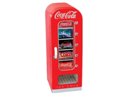 Koolatron CVF18 Retro Coca-Cola 10-Can-Capacity Vending Fridge