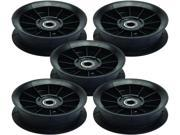 Murray 5 Pack 774089MA Backside Idler Pulley Approx. 4-3/4-Inch O.D. Replaces 91801