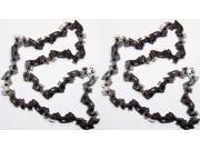 "Black & Decker CCS818 (2 Pack) Replacement 8"" Chain # 90597662-2pk"
