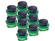 McCulloch Trimmer 10 Pack Replacement Single Line SPO013 Spool # 577616713-10PK