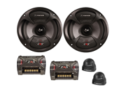 "Cadence Acoustics ZRS Series ZRS5K, 5.25"" 250 Watt Peak Power 2-Way Car Speaker Component Kit"