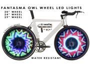 "Fantasma OWL Bicycle On-Wheel LED Imaging System BK-2071 (20""~up)-Preprogrammed Images"