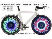 """Fantasma OWL BK-2082 Bicycle On-Wheel LED Imaging System (20""""~up)"""