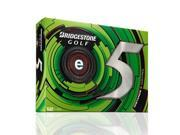 Bridgestone 2013 e5 Golf Balls Pack of 12 White New for 2013