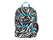 Jansport Big Student Overexposed Miss Zebra/Mammoth Blue T75K0CX