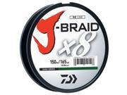 Daiwa JB8U80-1500DG J-Braid Braided Line 80lbs 1650Yds Filler Spool Dark Green