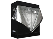 48x24x60 inch Mylar Reflective Aluminum Frame Grow Tent Room