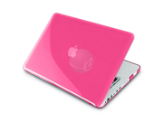 eForCity Pink Crystal Cover + Screen Protector + Keyboard Skin + Sleeve Case For Apple® Macbook Pro® 13