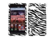 MYBAT Zebra Skin Phone Protector Cover for LG LS720