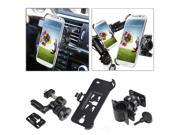 eForCity Swivel Car Air Vent Phone Holder with extra Bicycle Mount compatible with Samsung i9500 Galaxy S4 S IV S 4