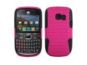 ASMYNA Hot Pink/Black Astronoot Phone Protector Cover for HUAWEI M636 (Pinnacle 2)