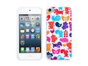 Apple iPod Touch 5th Gen/6th Gen Case, eForCity Animal Paradise TPU Rubber Candy Skin Case Cover Compatible With Apple iPod Touch 5th Gen/6th Gen, Colorful
