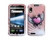 MYBAT Crowned Heart Phone Protector Faceplate Cover Compatible With MOTOROLA MB860(Olympus/Atrix 4G) 9SIA0PG0K01422
