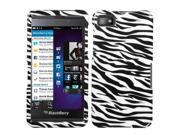 MYBAT Zebra Skin Phone Protector Cover Compatible With BLACKBERRY Z10