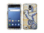 MYBAT Diamante Phone Protector Case compatible with Samsung© I997 (Infuse 4G), Clever Bird