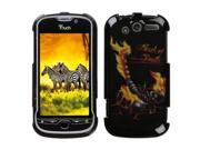MYBAT Scorpion Phone Protector Faceplate Cover Compatible With HTC myTouch 4G