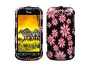 MYBAT Flower Wall Phone Protector Faceplate Cover Compatible With HTC myTouch 4G