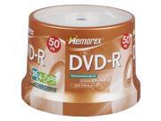 Memorex 05639 4.7 Gb Dvd-Rs (50-Ct Spindle)