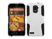 ASMYNA White/Black Astronoot Phone Protector Cover Compatible With ZTE N9510 (Warp 4G)