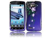 HRW for Motorola Atrix 2 MB865 Design Cover - Nightly Flower