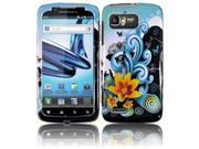 HRW for Motorola Atrix 2 MB865 Design Cover - Yellow Lily