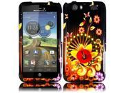 HRW for Motorola Atrix 3 MB886 Atrix HD(AT & T) - Design Cover - Shine Flower