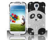 BJ For Samsung Galaxy S4 i9500 Full Diamond Design Case Cover - Panda Bear 9SIA0PG1C48076