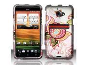 BJ For HTC Evo 4G LTE Rubberized Hard Design Case Cover - J15