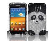 BJ For Samsung Epic Touch 4G D710/Galaxy S2 Full Diamond Design - Panda Bear