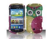 BJ For Samsung Galaxy Stellar 4G i200 Full Diamond Design Case Cover 9SIA0PG1BT5389