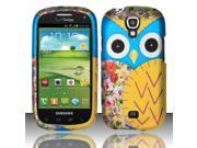 BJ For Samsung Stratosphere 2 i415 Rubberized Design Cover - Owl 2 Design