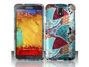 BJ For Samsung Galaxy Note 3 N9000 - Rubberized Design Case Cover - Dazzling Design 9SIA0PG1AZ6161