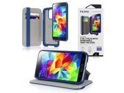 Incipio Watson Wallet Folio for Samsung Galaxy S5 - Retail Packaging - Navy