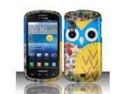 BJ For Samsung Stratosphere i405 - Rubberized Design Cover - Owl 2 Design