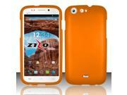 For BLU Life One L120 - Rubberized Cover - Orange RP