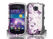 BJ For Samsung Illusion / Galaxy Proclaim i110 (Verizon / Straight Talk) Rubberized Design Cover - J5