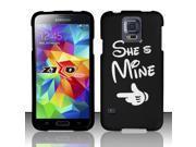 BJ For Samsung Galaxy S5 - Rubberized Design Cover - She`s Mine 9SIA0PG1PB2927