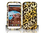For BLU Life One L120 - Rubberized Design Cover - Cheetah