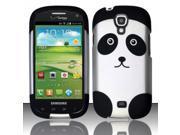 BJ For Samsung Stratosphere 2 i415 - Rubberized Design Cover - Panda Bear