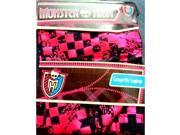 Monster High Creeperific Leggings Pink & Black Size 8-10 Metallic Hot Pink