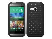 ASMYNA Black/Black FullStar Protector Cover compatible with HTC One M8 mini