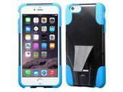 "iPhone 6 Plus Case - eForCity Hybrid T-Stand Case Cover for Apple iPhone 6 Plus 5.5"""", Baby Blue"" 9SIA0PG22A2798"