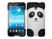 eForCity Rubberized Design Hard Snap-On Cover for Samsung Galaxy Mega 2, Panda Bear DP 9SIA0PG2CZ2709