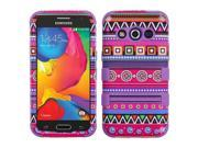 Samsung Galaxy Avant Case, eForCity Tuff Tribal Fashion Dual Layer [Shock Absorbing] Protection Hybrid Rubberized Hard PC/Silicone Case Cover For Samsung Galaxy